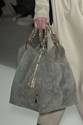 Louis vuitton Python-trimmed Monogram